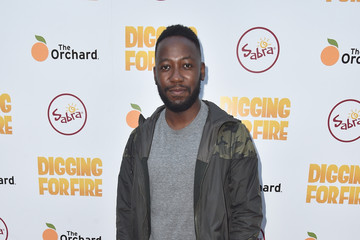 Lamorne Morris Celebrities Attends the Premiere of 'Digging For Fire'