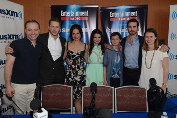 Lana Parrilla Colin O'Donoghue SiriusXM's Entertainment Weekly Radio Channel Broadcasts From Comic-Con 2014