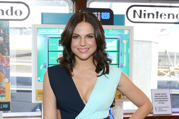 Lana Parrilla The Nintendo Lounge on the TV Guide Magazine Yacht at Comic-Con International 2015