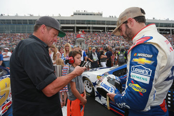 Lance Armstrong Monster Energy NASCAR Cup Series Coca-Cola 600