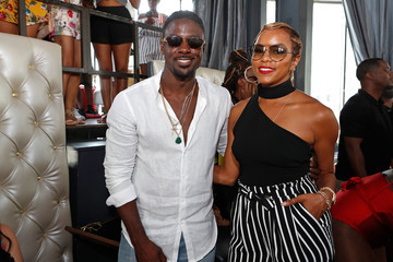 Lance Gross The SMIRNOFF Good Life Day Party Hosted by Lance Gross and Angela Yee at ESSENCE Festival 2017