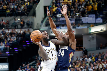 Lance Stephenson New Orleans Pelicans v Indiana Pacers
