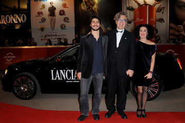Damiano Ottavio Bigi Lancia On The Red Carpet At The Rome Film Fest