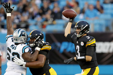 Landry Jones Pittsburgh Steelers v Carolina Panthers