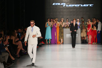 Lapo Elkann Italia Independent: Runway - MBFWI Presented By American Express Fall/Winter 2014