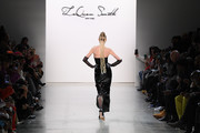 Elsa Hosk walks the runway for Laquan Smith during New York Fashion Week: The Shows on February 08, 2020 in New York City.