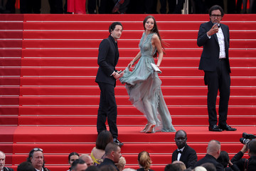 Lara Leito 70th Anniversary Red Carpet Arrivals - The 70th Annual Cannes Film Festival