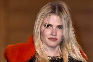 Lara Stone State Dinner in Honor of King Willem-Alexander of the Netherlands and Queen Maxima At Elysee Palace