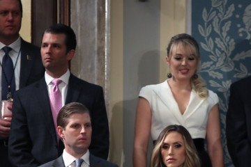 Lara Trump Trump Addresses the Nation in His First State of the Union Address to Joint Session of Congress