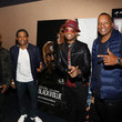 Larenz Tate Los Angeles Influencer Special Screening of Sony Pictures' BLACK AND BLUE, Hosted By Terrence J And Director Deon Taylor