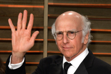 Larry David Stars at the Vanity Fair Oscar Party