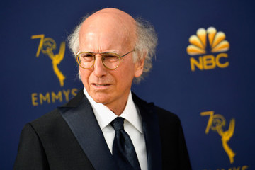 Larry David 70th Emmy Awards - Arrivals
