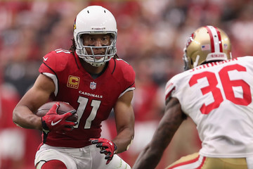 Larry Fitzgerald San Francisco 49ers v Arizona Cardinals