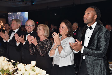 Larry Fitzgerald Muhammad Ali's Celebrity Fight Night XXIII - Backstage and Audience