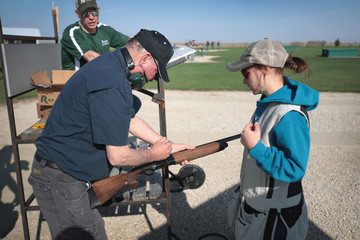 Larry Johnson High School Students Compete In Competitive Trapshooting Match