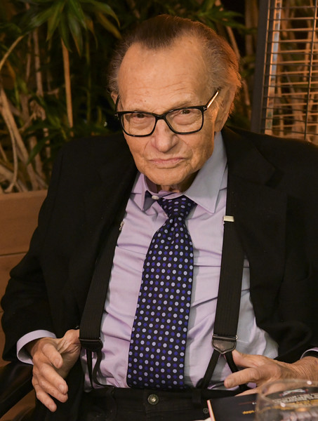 Friars Club And Crescent Hotel Honor Larry King For His 86th Birthday [suit,tie,glasses,tuxedo,businessperson,formal wear,white-collar worker,vision care,official,larry king,friars club and crescent hotel honor,portrait,crescent hotel,beverly hills,california,friars club,birthday,birthday]