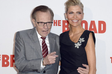 Larry King The Broad Museum's Inaugural Celebration