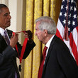 Larry McMurtry Obama Presents National Medal of Arts and National Humanities Medal at White House