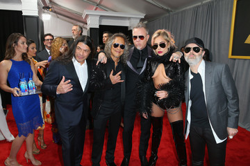 Lars Ulrich FIJI Water At The 59th Annual GRAMMY Awards