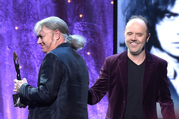 Lars Ulrich Ian Paice 31st Annual Rock and Roll Hall of Fame Induction Ceremony - Show