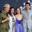 Michelle Yeoh and Henry Golding