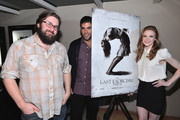 """Director Ed Gass-Donnelly, producer Eli Roth and actress Ashley Bell attend a special screening of CBS Films' """"The Last Exorcism Part II"""" at AMC 16 on February 28, 2013 in Burbank, California."""