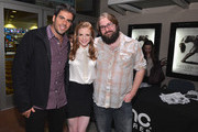 """Producer Eli Roth, actress Ashley Bell and director Ed Gass-Donnelly attend a special screening of CBS Films' """"The Last Exorcism Part II"""" at AMC 16 on February 28, 2013 in Burbank, California."""