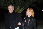 """Giuliano Adreani (L) and Cicci Adreani attend the """"Last Night"""" Dinner Party during the 5th International Rome Film Festival at the Casina Valadier on October 28, 2010 in Rome, Italy."""