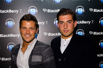 Mark Wright James Argent Launch Of The BlackBerry 7 Smartphone Collection