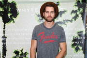 Pierson Fode attends launch event for Whyte Studio's Festival Capsule Collection at Top Shop at the Grove on April 17, 2019 in Los Angeles, California.