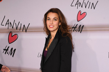 Rainey Qualley Launch Of Lanvin For H&M