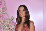 Alessandra Ambrosio attends the launch of Patrick Ta's Beauty Collection at Goya Studios on April 04, 2019 in Los Angeles, California.