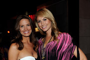 Television personality Heidi Androl (L) and actress Stacy Kiebler attend the launch of Virgin America's first international destination to Toronto at the Thompson Hotel on June 29, 2010 in Toronto, Canada.