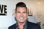 Tv personality David Tutera attends the launch of WE tv's David Tutera CELEBrations and Casa Mexico Tequila on November 6, 2015 in Hollywood, California.