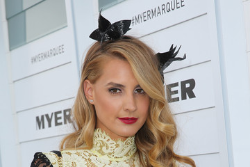 Laura Dundovic Celebrities Attend Stakes Day
