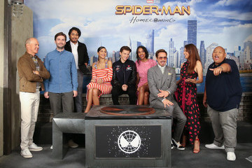Laura Harrier 'Spider-Man: Homecoming' Photo Call