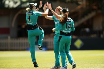 Laura Harris WBBL - Scorchers v Heat