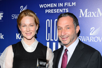 Laura Linney Alan Poul Behind the Scenes at the Crystal + Lucy Awards