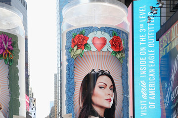 Laura Prepon 'Orange Is The New Black' Takes Over Times Square