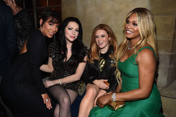 Laura Prepon Laverne Cox Entertainment Weekly's Celebration Honoring The 2015 SAG Awards Nominees - Inside
