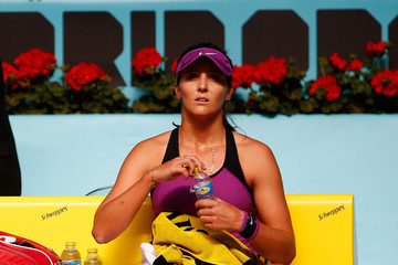Laura Robson Mutua Madrid Open - Day Two
