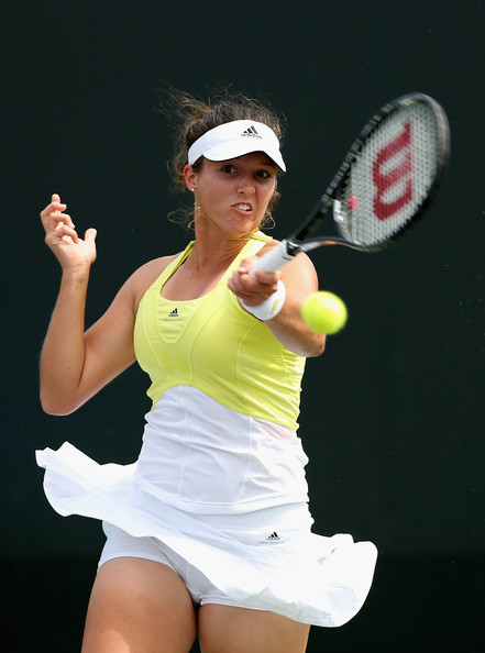 laura robson laura robson of great britain plays a forehand to alize