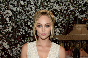 Laura Vandervoort alice + olivia by Stacey Bendet and Neiman Marcus Present See-Now-Buy-Now Runway Show - Front Row and Backstage
