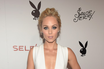 Laura Vandervoort Playboy and Gramercy Pictures' Self/less Party During Comic-Con Weekend at Parq Restaurant & Nightclub - Arrivals