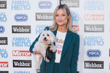 Laura Whitmore Daily Mirror & RSPCA Animal Hero Awards - Red Carpet Arrivals