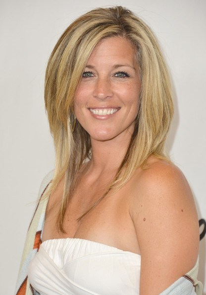 Laura Wright Actress Laura Wright arrives to the Disney ABC Television