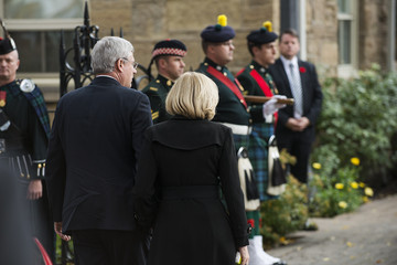 Laureen Harper Funeral Held for Nathan Cirillo