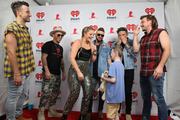 Lauren Alaina Michael Ray Daytime Village At The 2019 iHeartCountry Festival - Backstage