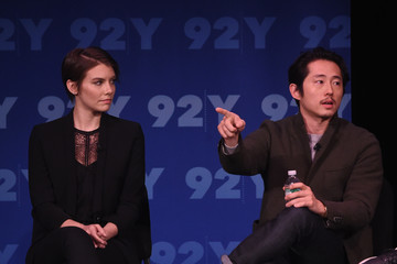 Lauren Cohan Steven Yeun 'The Walking Dead': Screening and Conversation at the 92nd St Y
