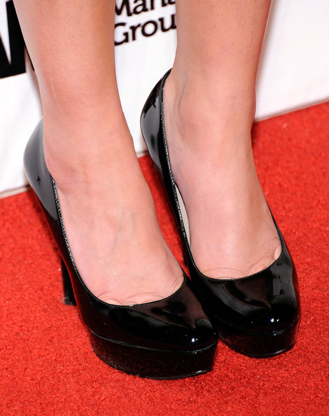 Television personality Lauren Conrad (shoe detail) arrives at the Pure Nightclub at Caesars Palace to celebrate her birthday February 12, 2011 in Las Vegas, Nevada. Conrad turned 25 on February 1.